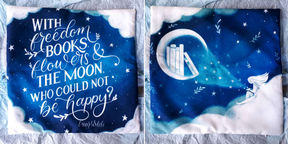 january 2020 fairyloot pillow case
