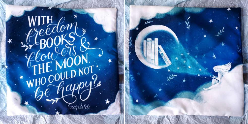 january 2020 fairyloot pillow case