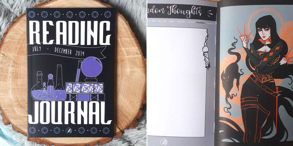 june 2019 Fairyloot reading journal