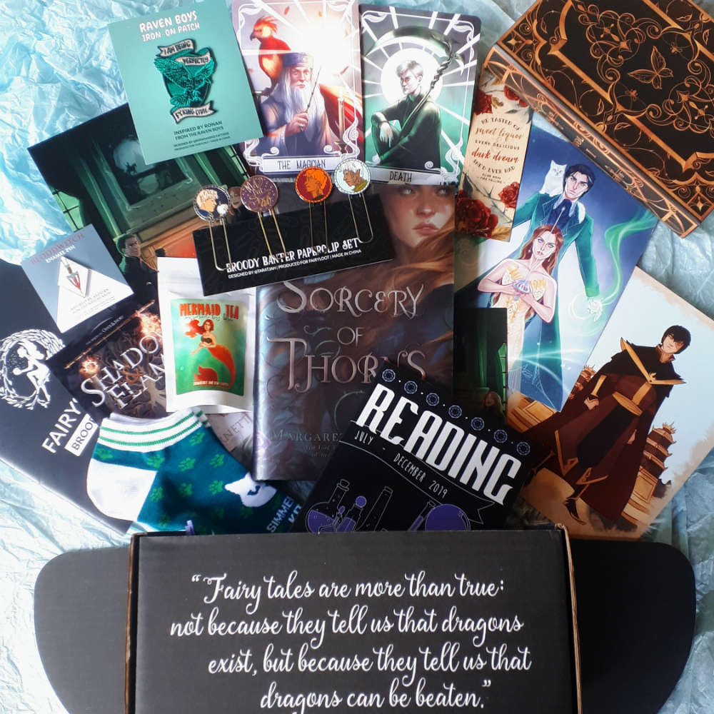 june 2019 Fairyloot  overview
