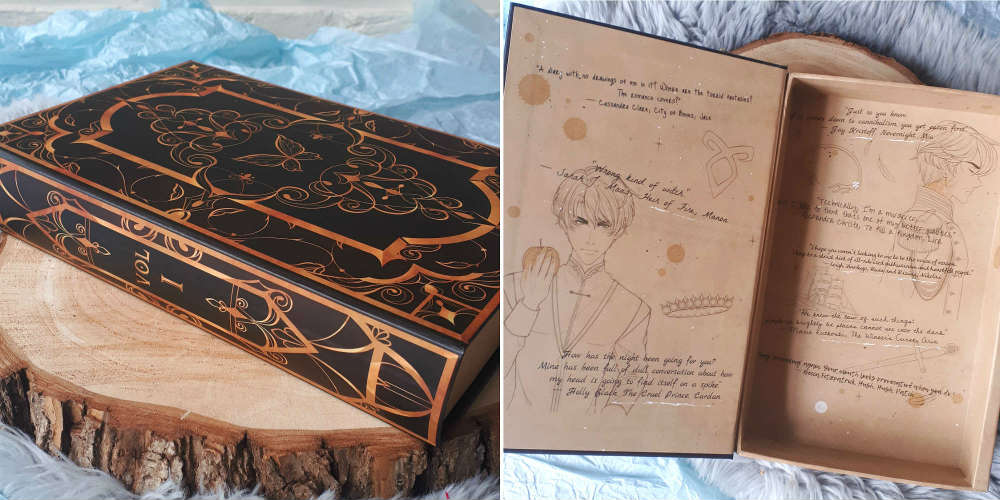 june 2019 Fairyloot secret book
