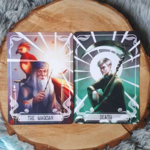 june 2019 Fairyloot tarot cards