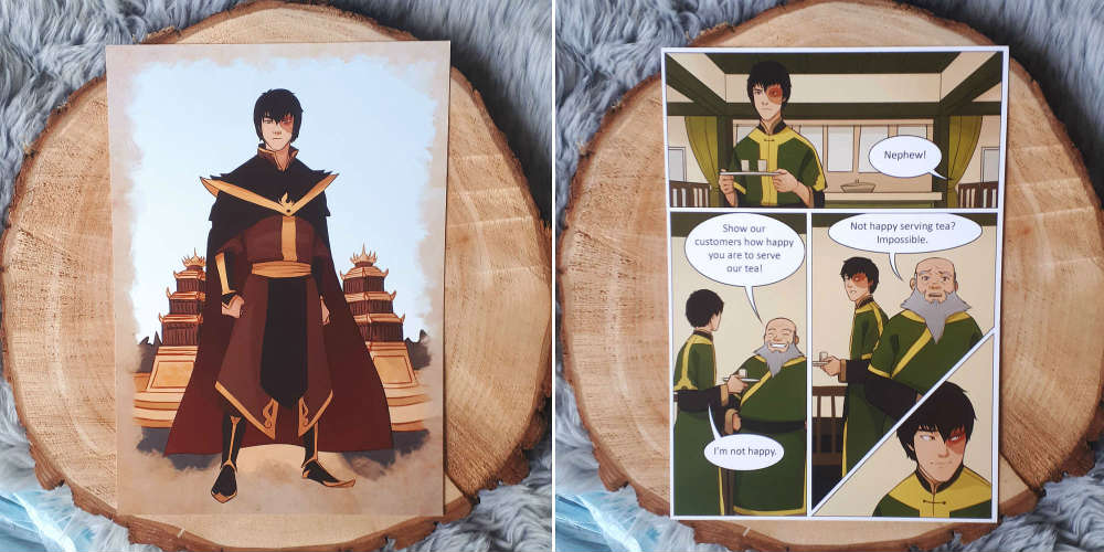 june 2019 Fairyloot Zuko