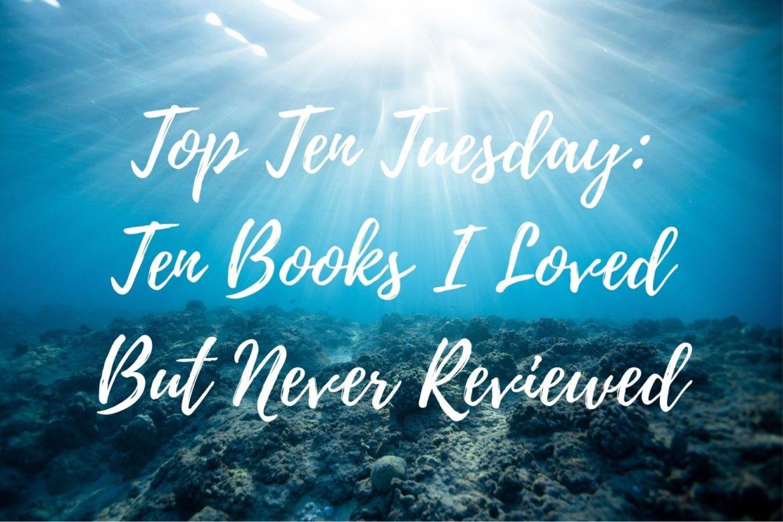 ttt books i never reviewed