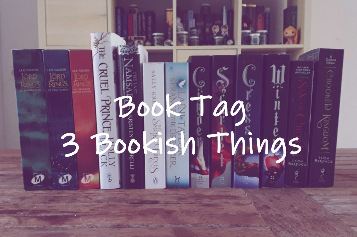 3 bookish things