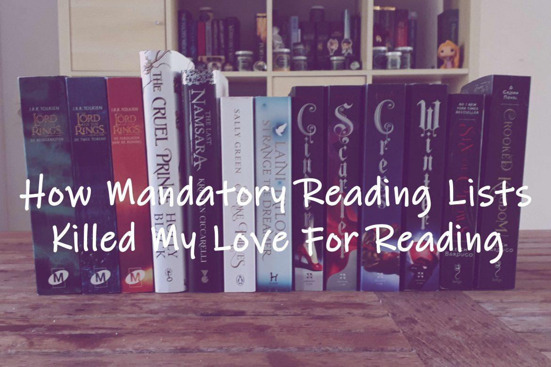 mandatory reading list